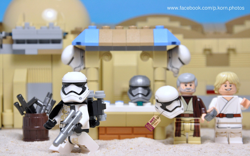 Ways to make money on Tatooine - Selling the new First Ord… | Flickr