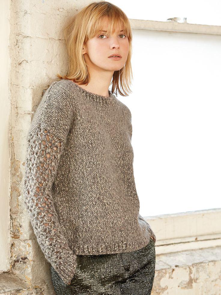 Lady in stylish knitwear Mytwist Flickr