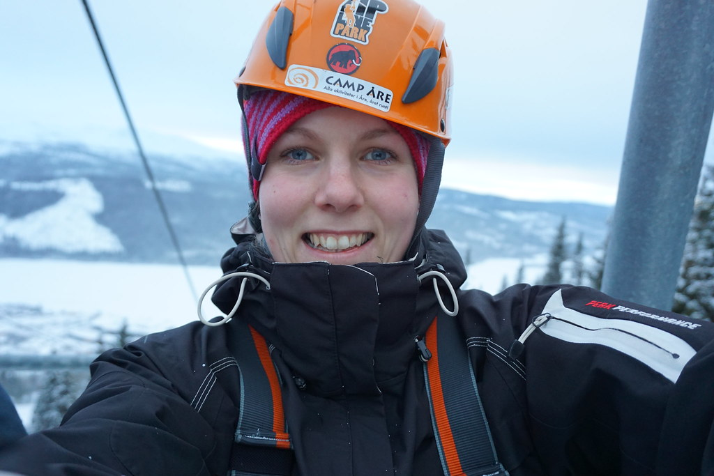 Adrenalinkick - ZipLine i Åre camp åre