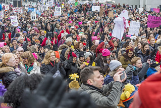 manif des femmes women's march montreal 39 | by Eva Blue