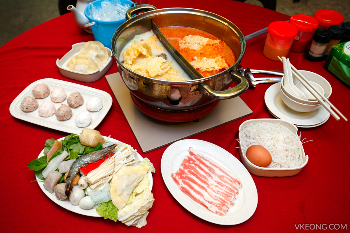 Kepong Bamboo Garden Steamboat Meal