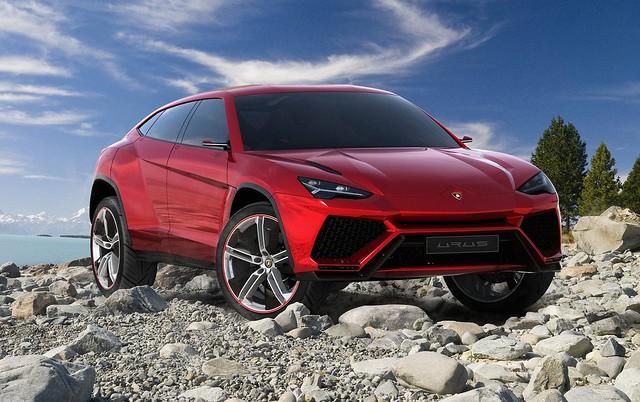 Lamborghini Urus Concept 2012 1