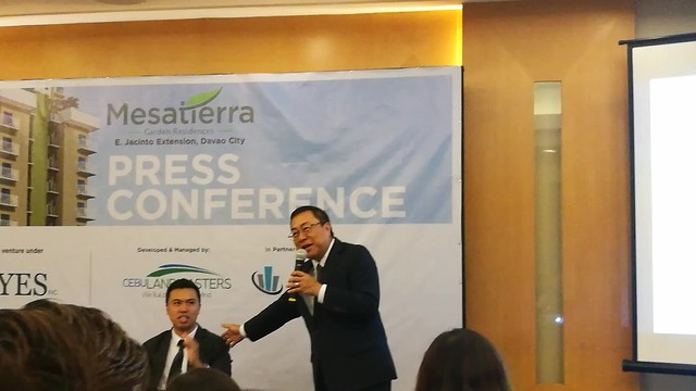 (VIDEOS) DavaoLife.com | Jose Soberano III President & CEO of Cebu Landmasters Inc - Welcome Home to MesaTierra Garden Residences in Progressive Davao City