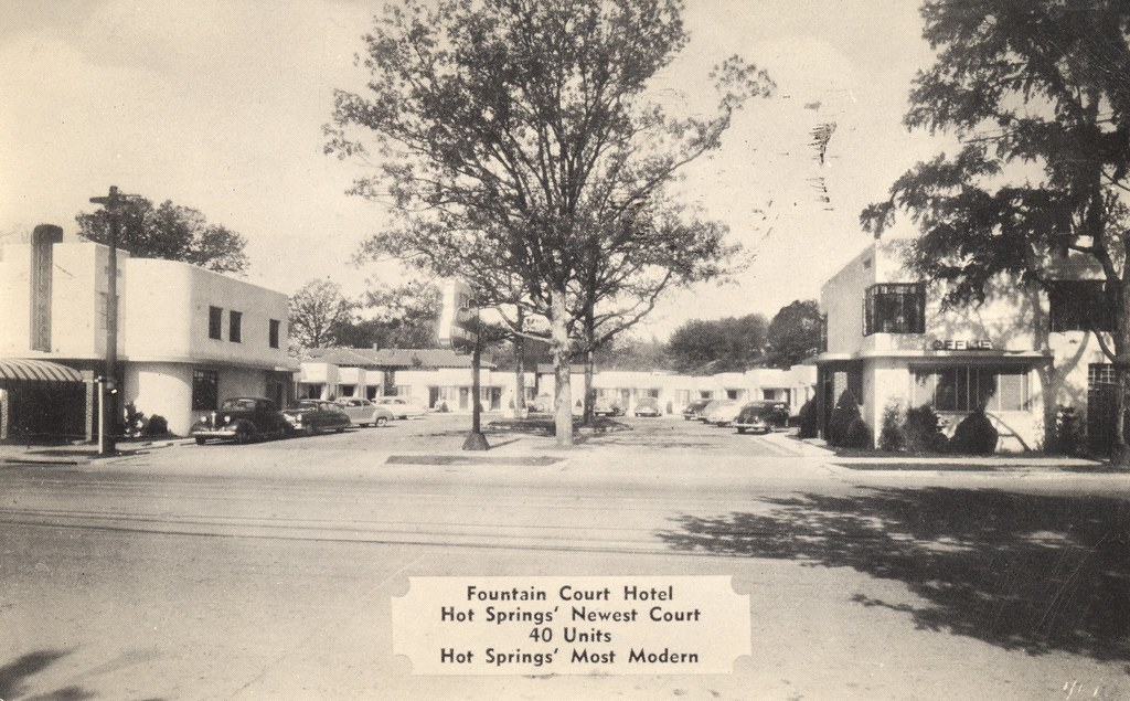 Fountain Court Hotel - Hot Springs National Park, Arkansas