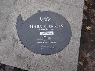 Marx & Engel en Berlín