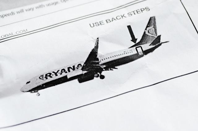 Ryanair logo, Tenerife