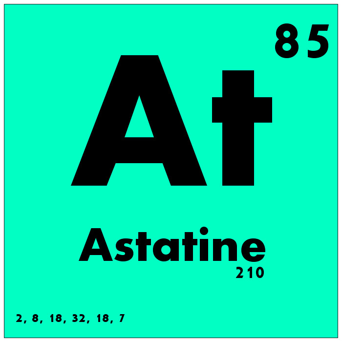 085 astatine periodic table of elements watch study for Table of elements 85