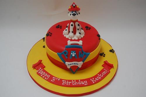 Marshall from Paw Patrol Cake – Beautiful Birthday Cakes