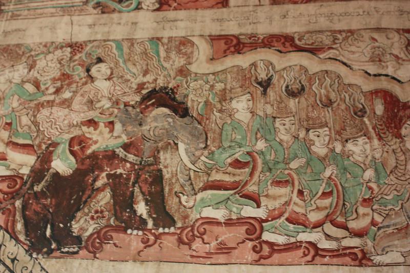 Мьянма, фрески Багана