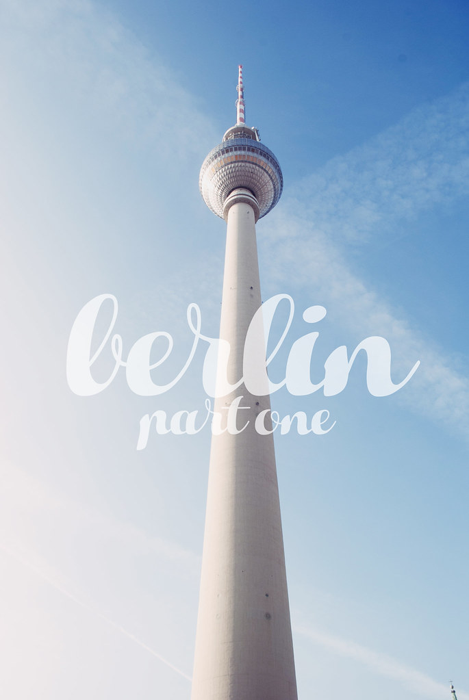 Berlin TV Tower - Travel Diary