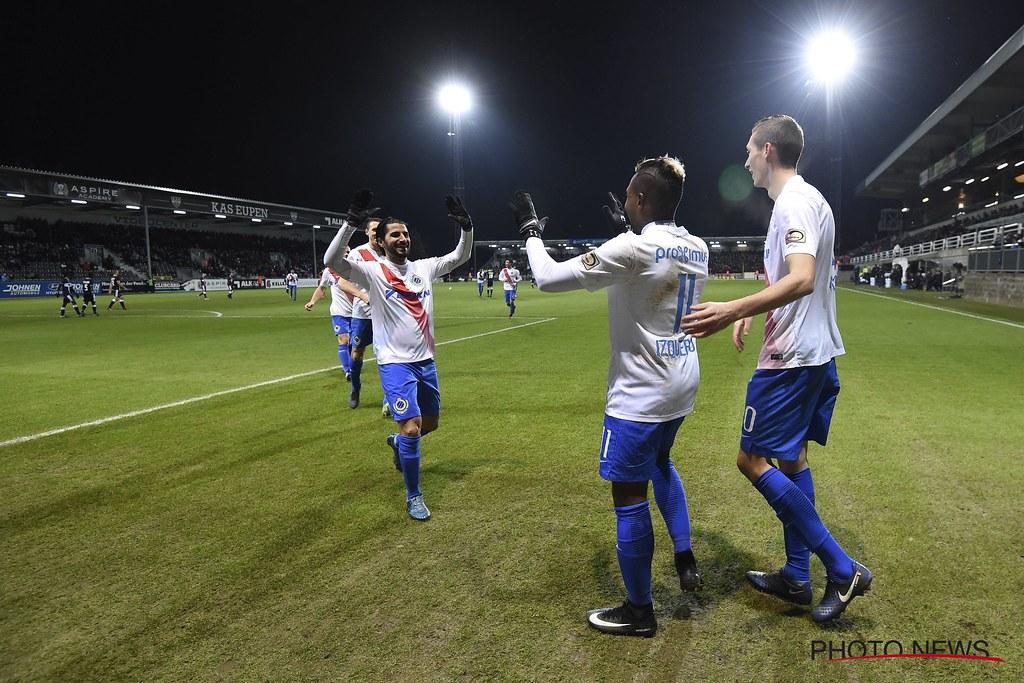 Eupen - Club Brugge 21-12-2016