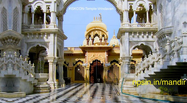 Prabhda personally visit this holy place and also lived in the land of Shri Krishna.