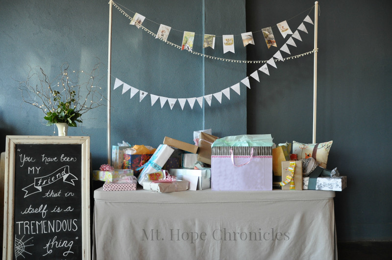 Lindsay's Literary Baby Shower @ Mt. Hope Chronicles