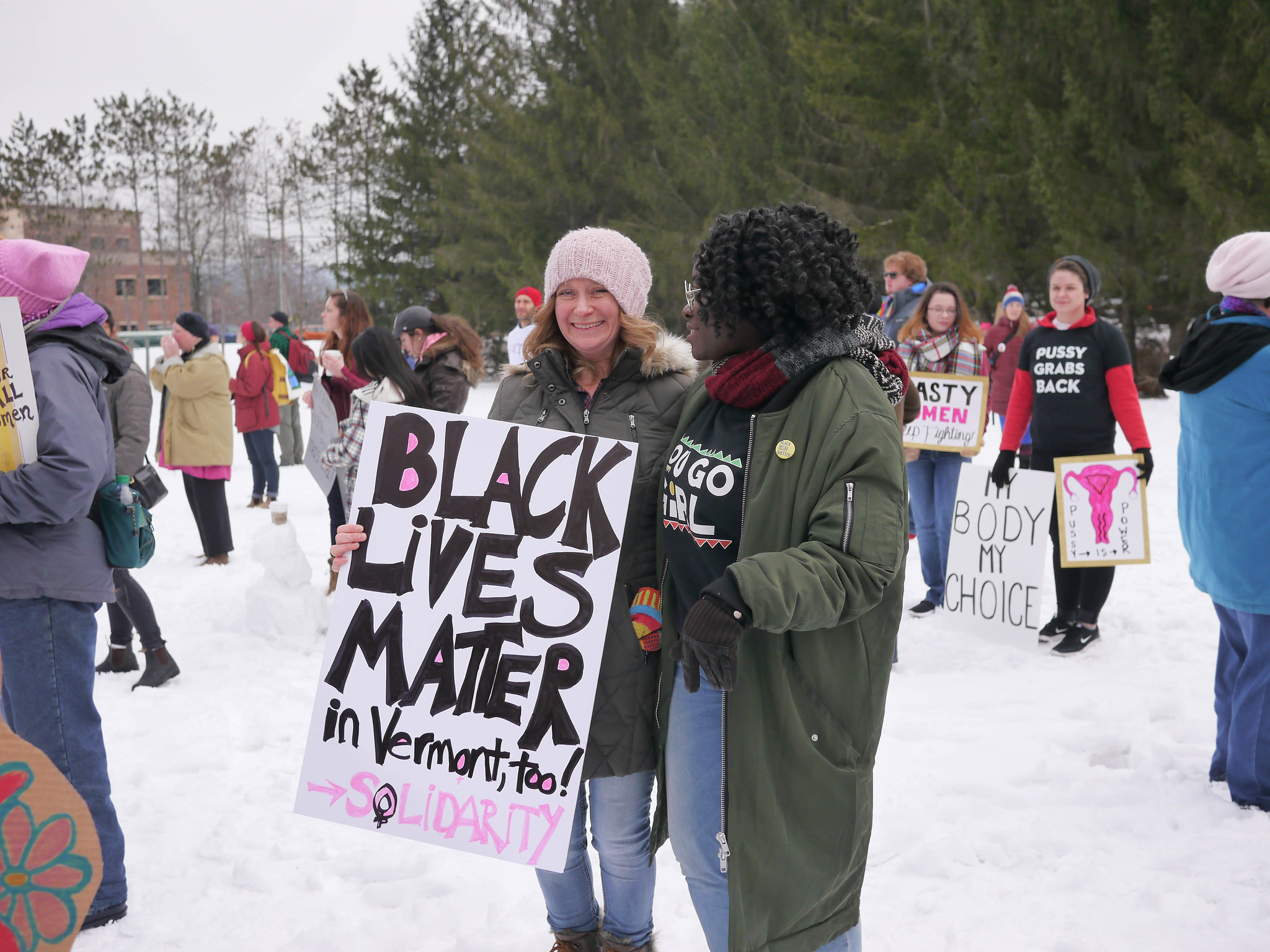 Black Lives Matter in Vermont, too!