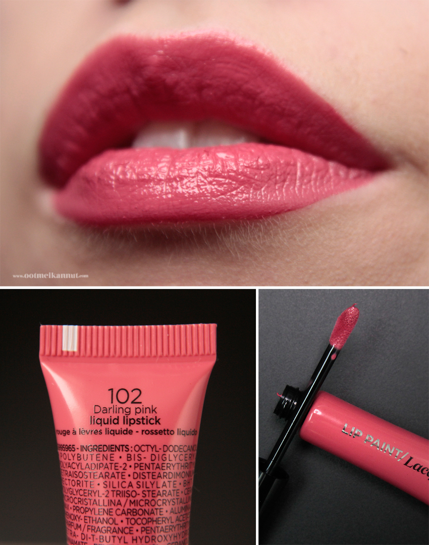 Loreal Lip Paint Darling pink