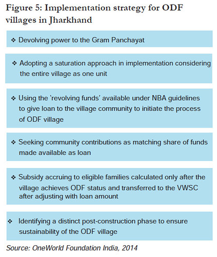 Implementation strategy for ODF
