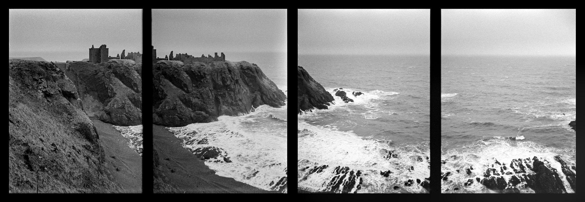 Dunottar Half Frame Panorama 1 of 2