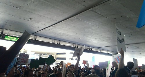 Protesting for Refugees at LAX | by SMF'sPhotographs