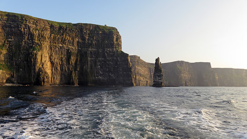 The Cliffs of Moher on a side trip on the Aran Islands Ferry