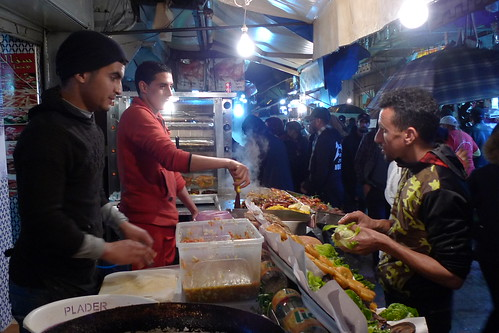 Sandwich Shop - Rabat, Morroco