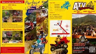 Brochure ATV Chiang Mai Tours Thailand 1