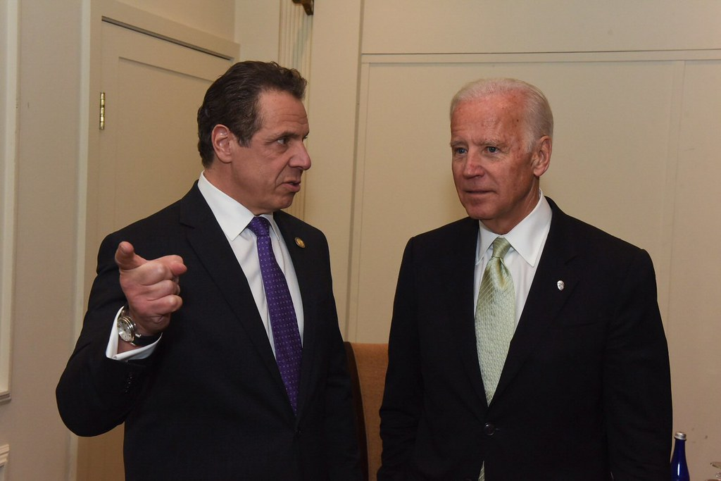 Governor Cuomo Presents Vice Presid