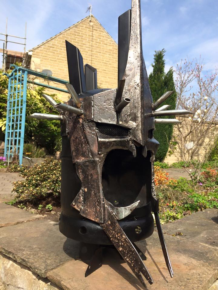 Wood burners & fire pits by Burned by Design - Lord of the Rings The Witch-king
