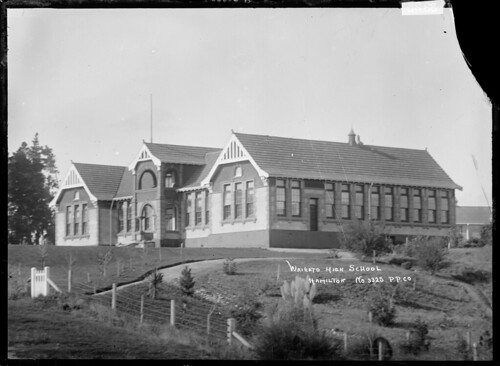 Hamilton High School, Hamilton | by National Library NZ on The Commons