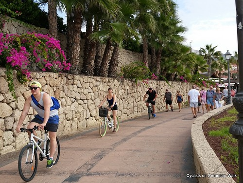 Cycling geranium walk