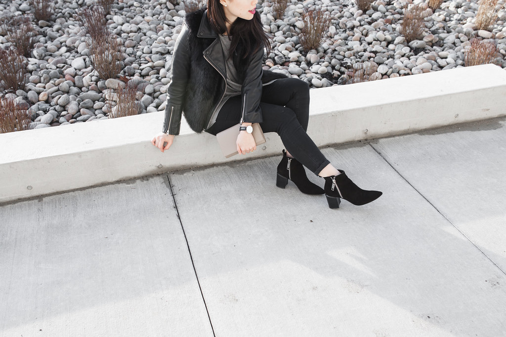 dolce vita black suede booties