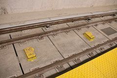 Link to the photo for Downsview Park Station ATC/ATO boxes between the rails