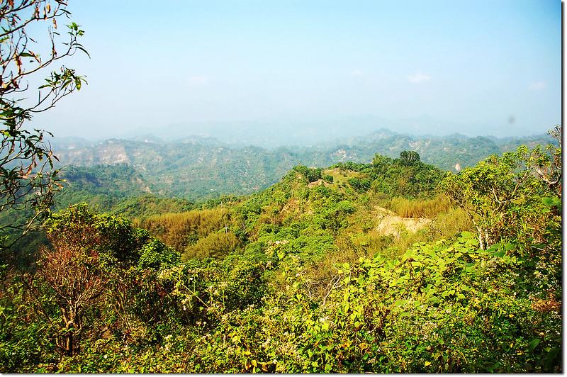 麻竹湖山展望