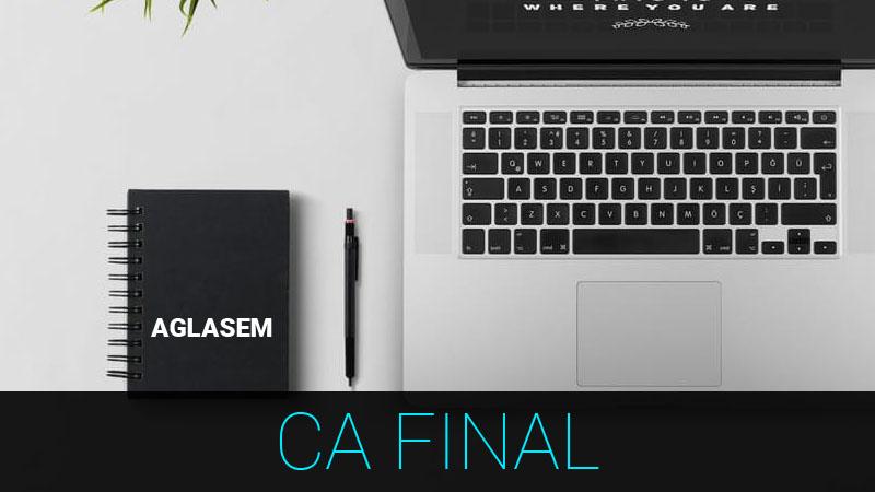 ICAI CA Final May 2018