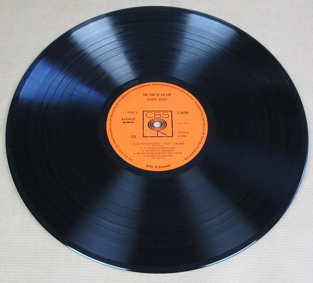 """ROBERT WYATT END OF AN EAR UK ENGLAND 12"""" LP VINYL"""