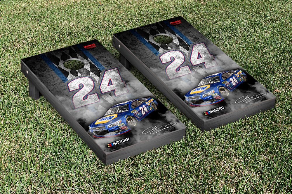 CHASE ELLIOT #24 CORNHOLE GAME SET CONCRETE VERSION (1)