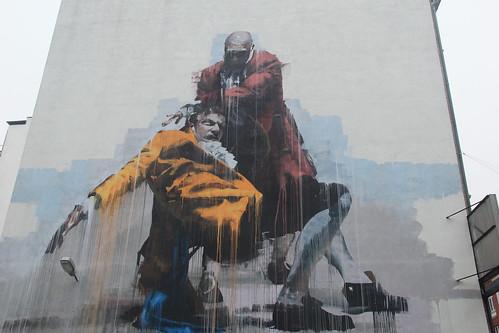 Street art, Vesterbro