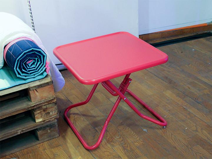 Zit-/ligmatje & opklapbare salontafel