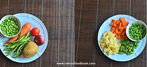 Karnataka veg pulao recipe