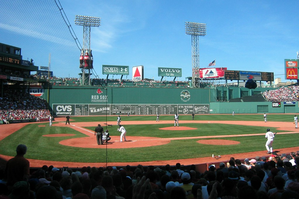 Fenway Park Home Plate Amp Green Monster Fenway Park Is