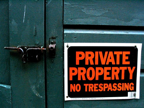 PRIVATE PROPERTY | by great_sea