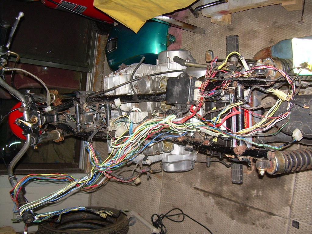 1979 Yamaha XS 1100 Wiring Work | I dragged two old Yamaha ...