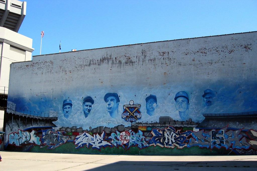 ... Bronx   Yankee Stadium: Parking Lot   Mural | By Wallyg Part 8