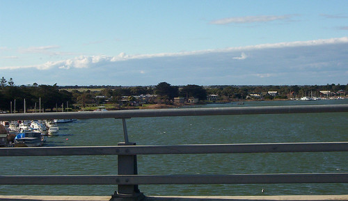 Goolwa viewed from bridge | by Mundoo