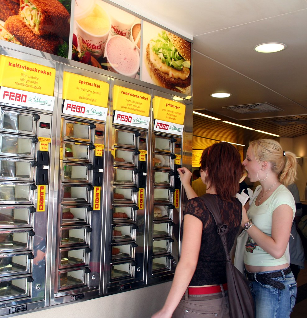 How To Get Vending Machine Food For Free