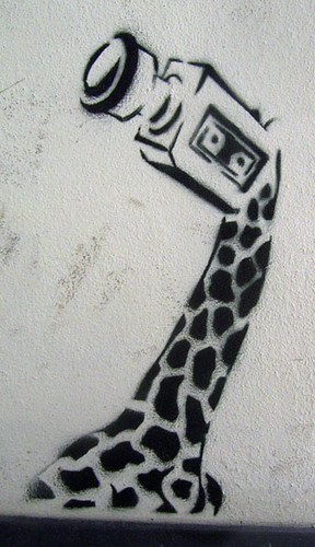giraffe pattern stencil