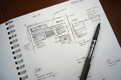Early BusinessWeek.com Design Sketch | by stuntbox