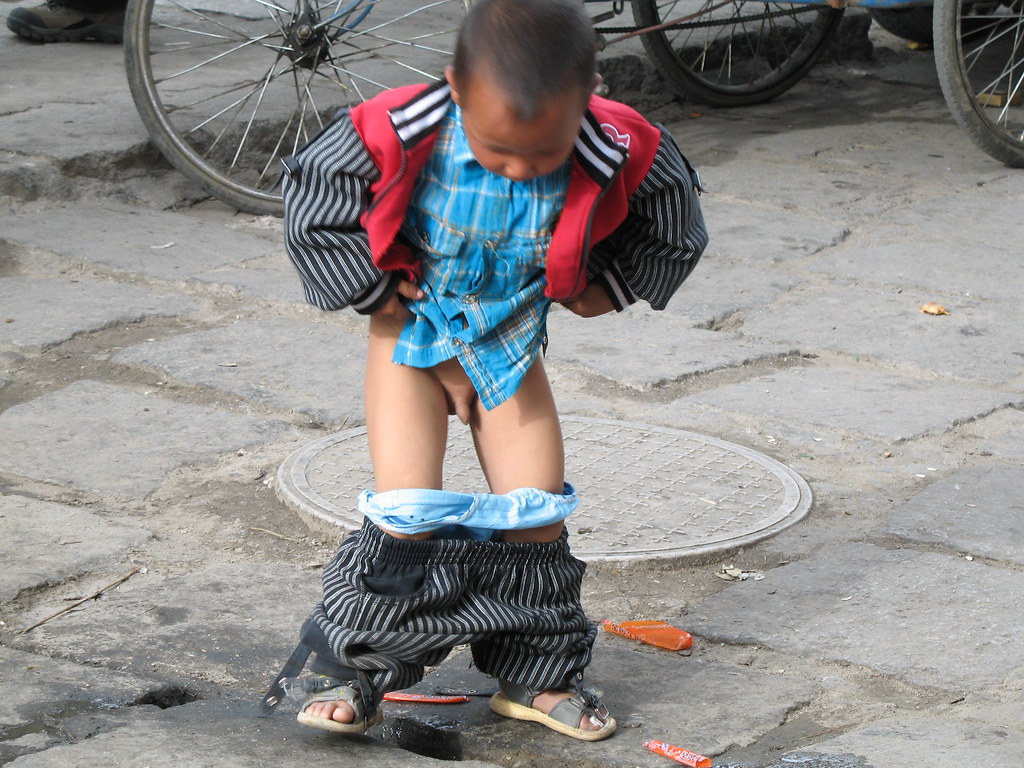 pee boy ... roadside poop | by dead end doll