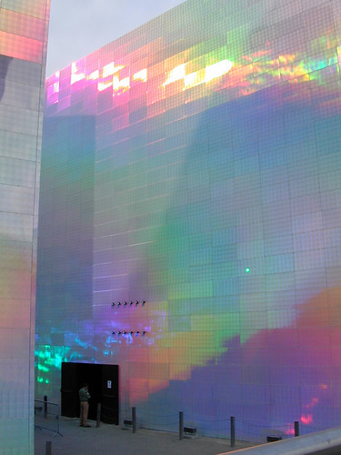 Bilbao Guggenheim, holographic exhibit | by abriwin