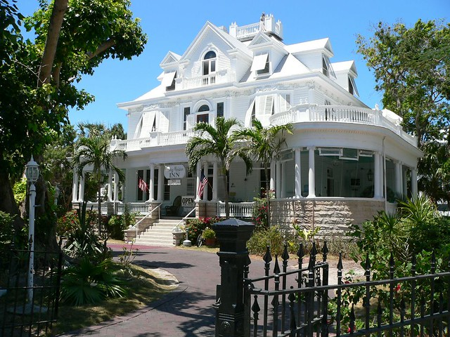 Curry Mansion Inn Guesthouse in Key West | A beautiful old