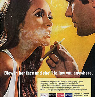 Cigarette Ad from 70s | by wakeband